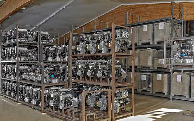 Bild Motorenlager BOOM